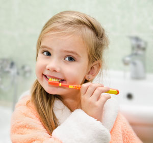 Brushing Teeth - Pediatric Dentist in Poway, CA