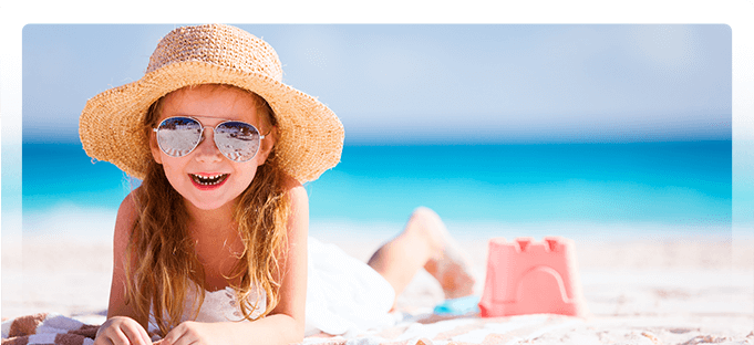 Girl in sunglasses - Pediatric Dentist in Poway, CA